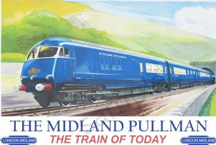 The Midland Pullman - Train Advertising Poster